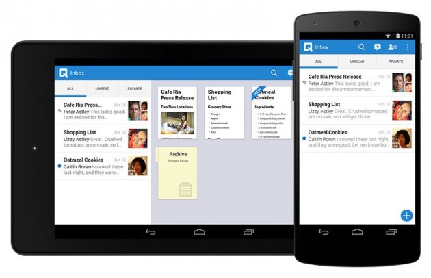 Quip's interactive collaboration word processor app launches on Google Play today.