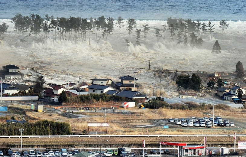 Japan earthquake and tsuanmi