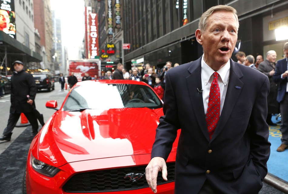 Ford 39 s alan mulally will not leave to become microsoft ceo for Ford motor company alan mulally