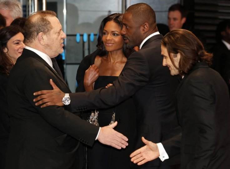 The cast of Mandela: The Long Walk To Freedom with Harvey Weinstein