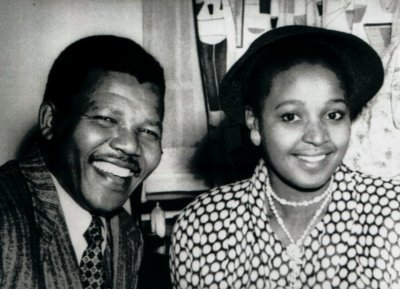 Wedding to Winnie Mandela