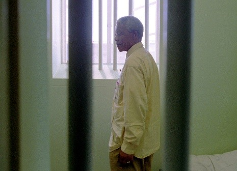 Mandla spent 27 years of his life in a Robben Island prison after being convicted of sabotage during white minority rules South Africa (Reuters)