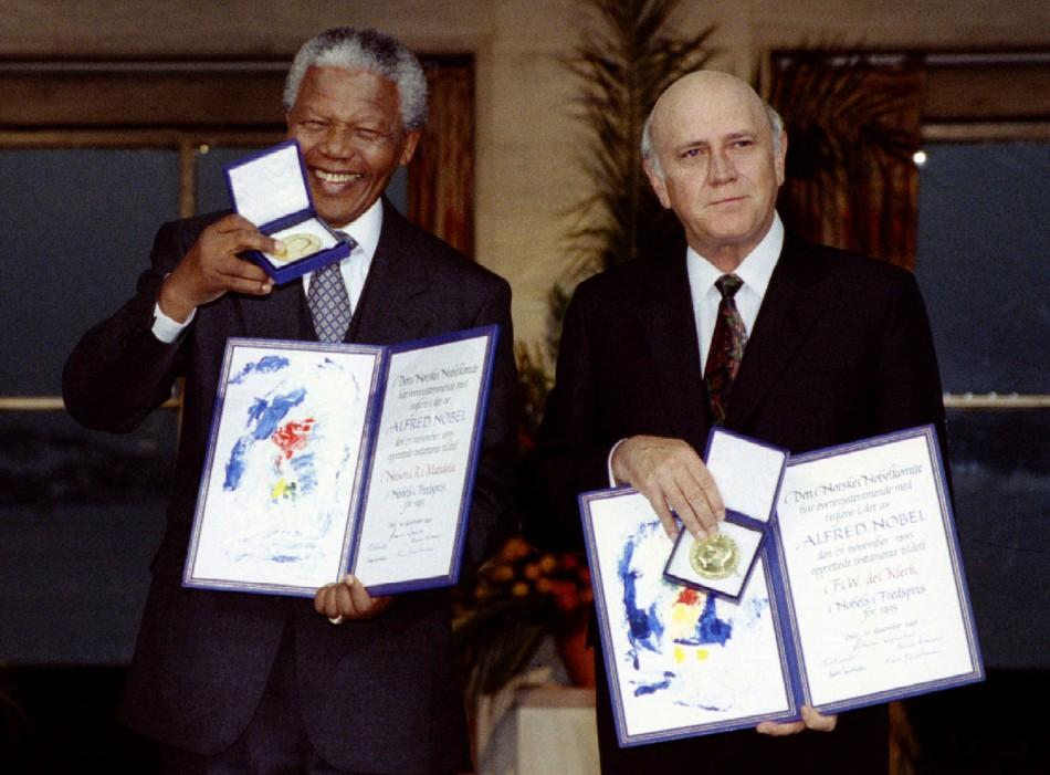 Mandela peace prize