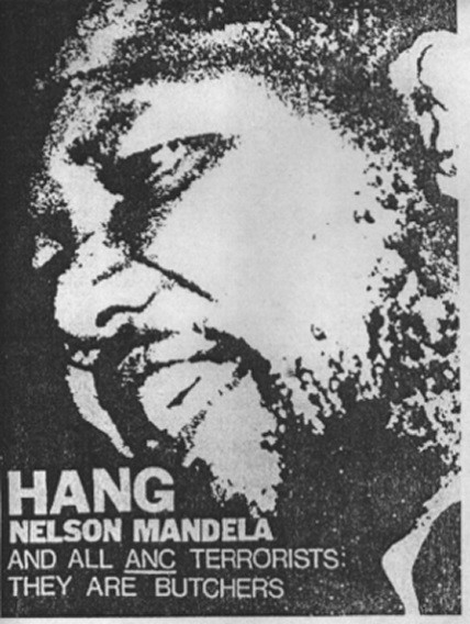 The Federation of Conservative Students' 'Hang Nelson Mandela' campaign