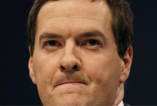 George Osborne UK recovery