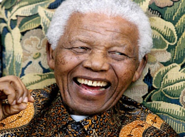 Nelson Mandela, who has died at home in johannesburg, South Africa