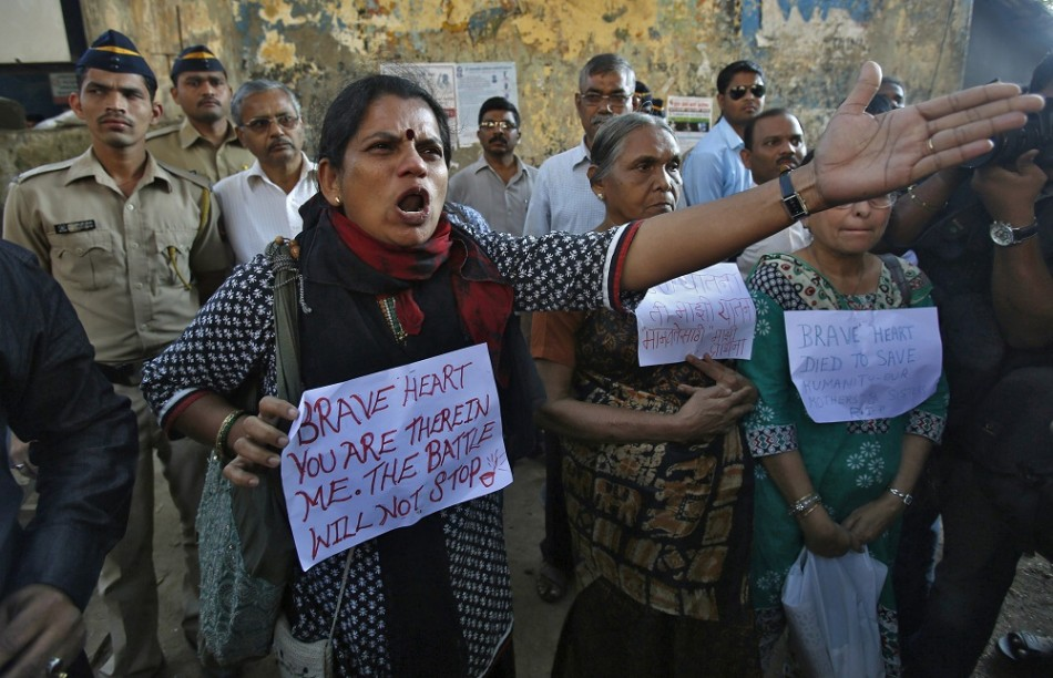 India Gang-Rape Poison Protest