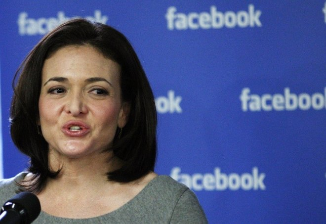 Sheryl Sandberg (Photo: Reuters)