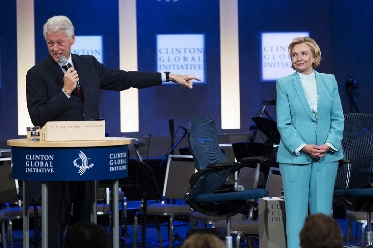 Bill and Hillary Clinton (Photo: Reuters)