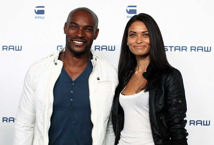 Tyson Beckford and Shanina Shaik (Photo: Reuters)