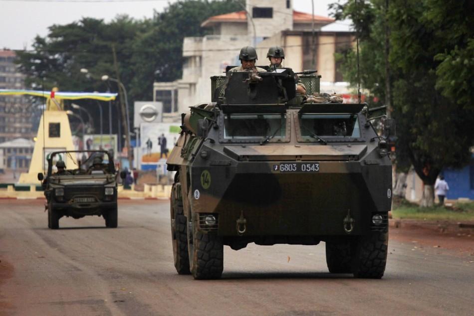 France CAR Bangui
