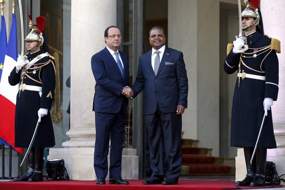 Hollande Elysee Tiangaye