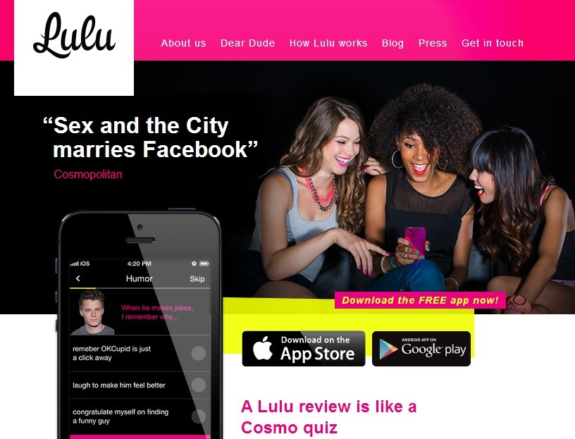 Lulu app which is being sued in Brazil for letting women comment on men