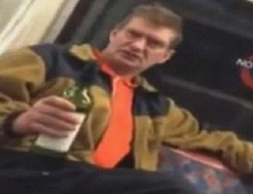 Keith Hurdle's racist rant was uploaded on to YouTube PIC: YouTube