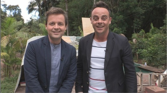 Declan Donnelly and Ant McPartlin
