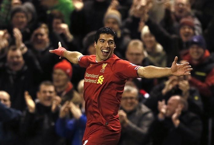 Luis Suarez Liverpool