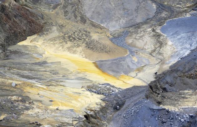 Copper mine in Bor, Serbia.