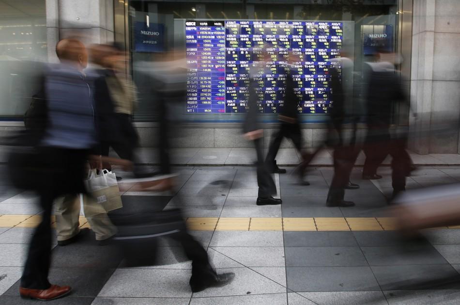 Asian stock markets outside Shanghai and Mumbai finished the week lower