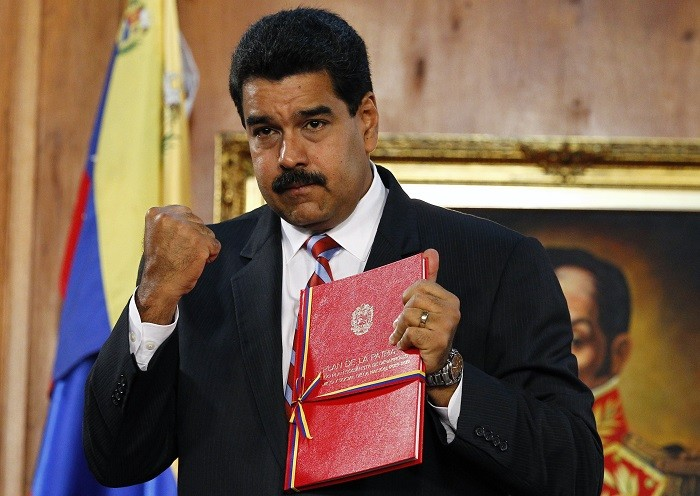Venezuelan President Nicolas Maduro hopes his party will emerge victorious in Sunday's municipal elections. (Reuters)