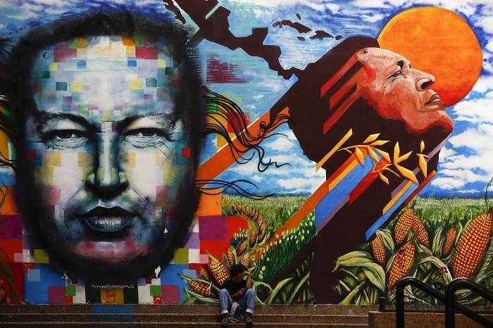 Hugo Chavez's spectre looms large over Venezuela's political and social landscape. (Reuters)