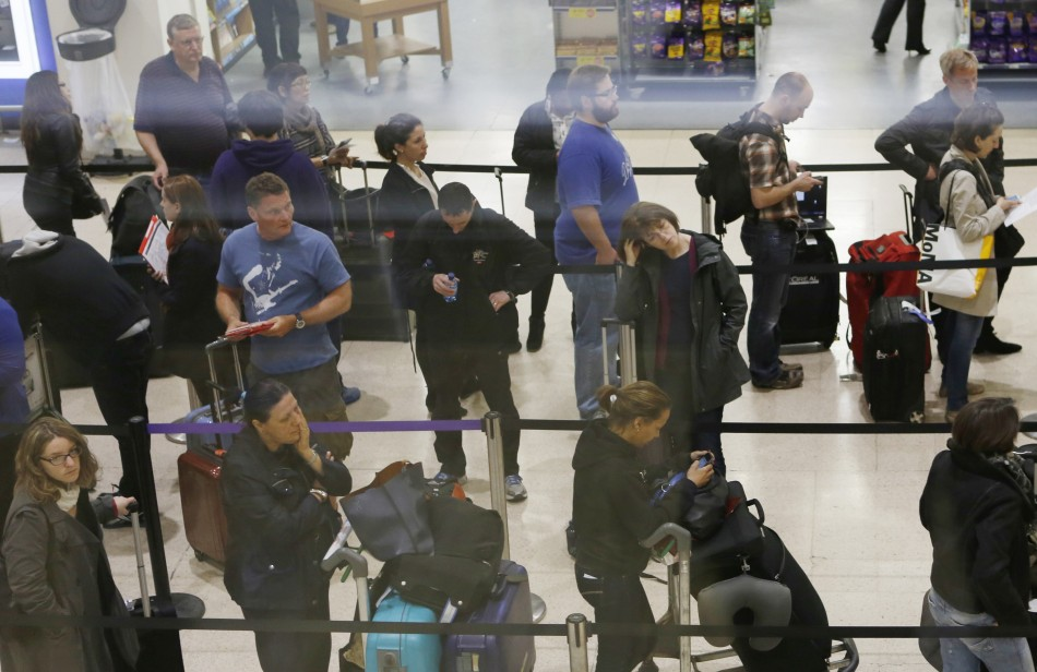 Long Delays at UK Airports after Technical Fault
