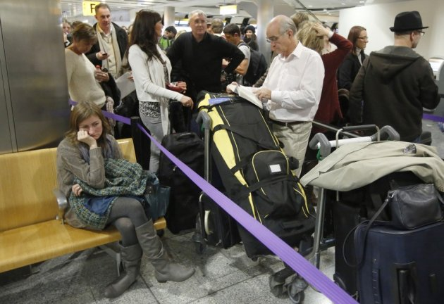 Passengers Face Delays At UK Airports