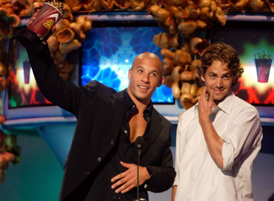 Fast and The Furious Stars Vin Diesel and Paul Walker