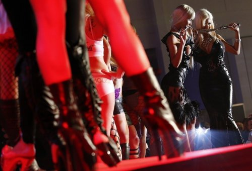 US porn industry halts filming after another performer contracts HIV. (Reuters)