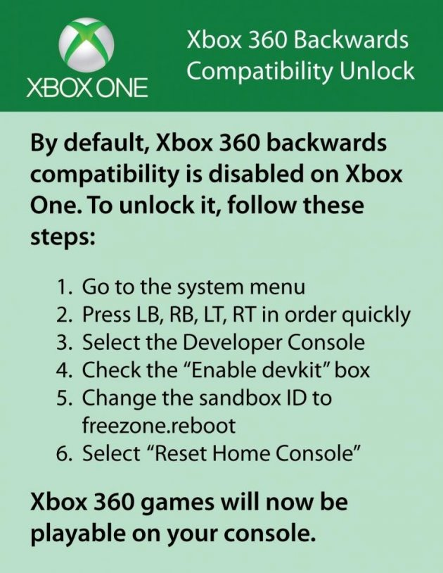 Xbox One: Fake Backward Compatibility Unlocking Steps Can Brick Your Console [VIDEO]