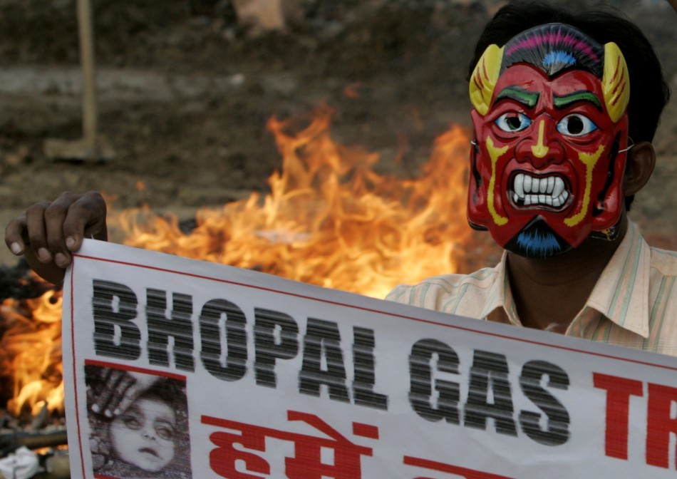 The Bhopal disaster, one of the world's worst industrial accidents that killed thousands of people in 1984.