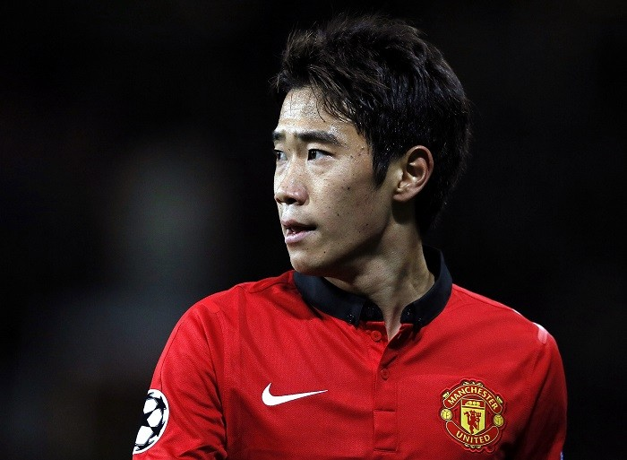 Midfielder Shinji Kagawa was absent from Manchester United's 1-0 defeat against Newcastle on Saturday as a safety precaution. (Reuters)