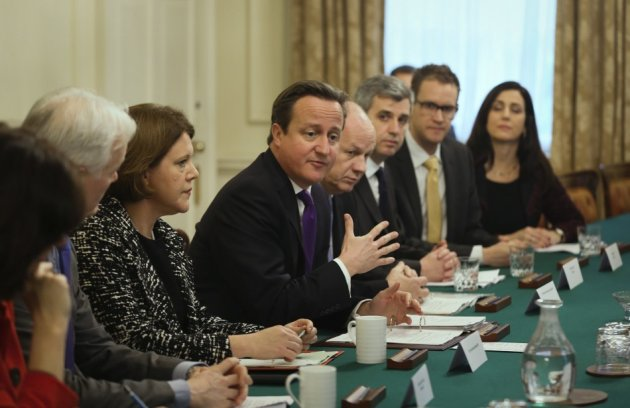 Prime minister David Cameron hosts an internet safety summit at 10 Downing Street on November 18.