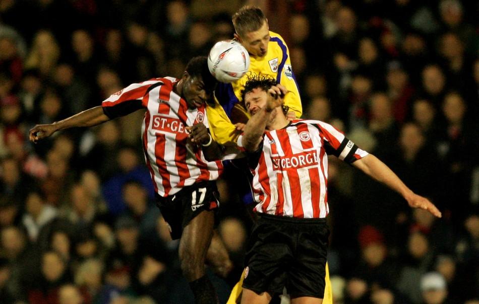 Former Portsmouth player Sam Sodje