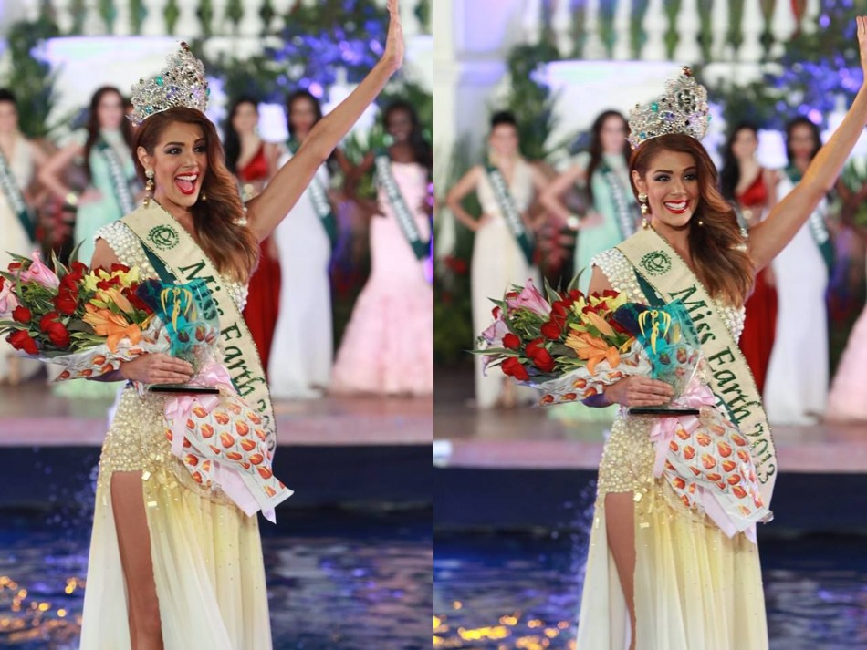 Alyz Henrich is the second young woman from Venezuela to be crowned Miss Earth. (MissEarthPageant/Facebook)