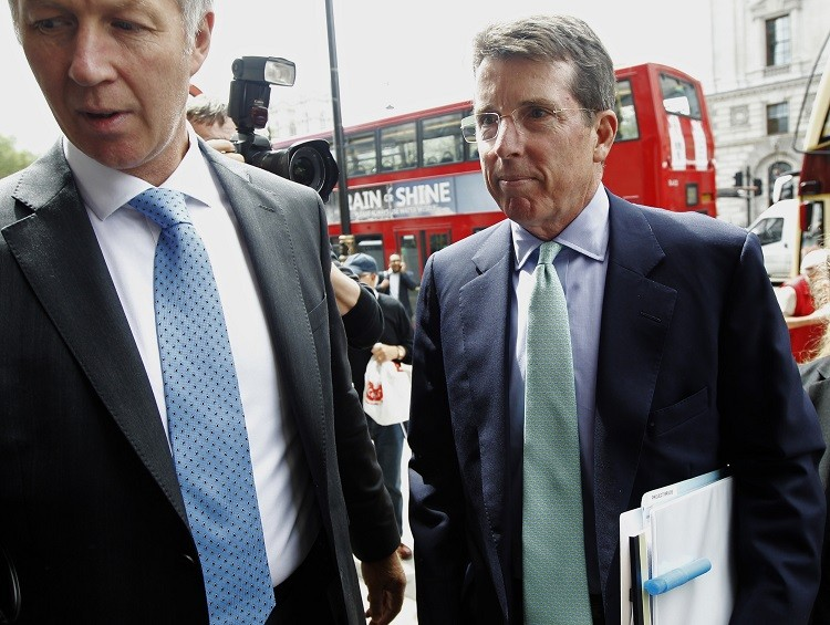 Barclays bank former Chief Executive Bob Diamond arrives at Portcullis House to attend a Treasury select committee hearing in July 2012. (Photo: Reuters)