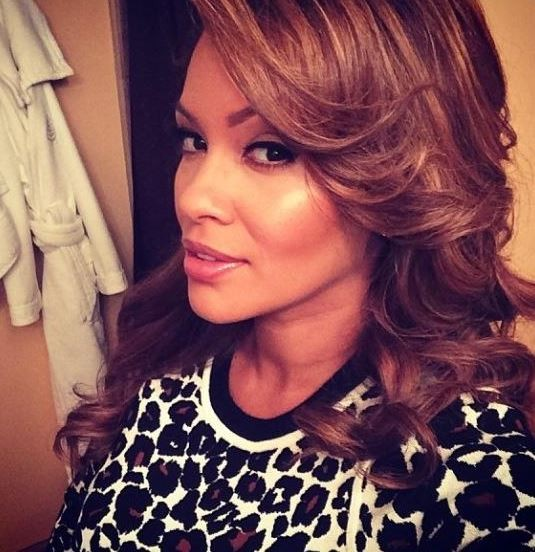 American television personality Evelyn Lozada has revealed that Los Angeles Dodgers player Carl Crawford is the father of her baby. (Facebook)