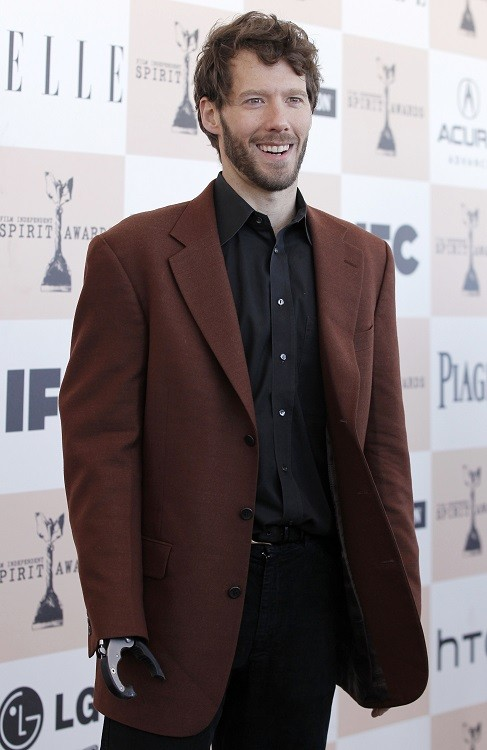 Aron Ralston, subject of the film 127 Hours, arrives at the 2011 Film Independent Spirit Awards in Santa Monica, California (Reuters)
