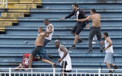 Brazil Stadium violence