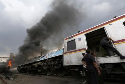 Indonesia train explosion