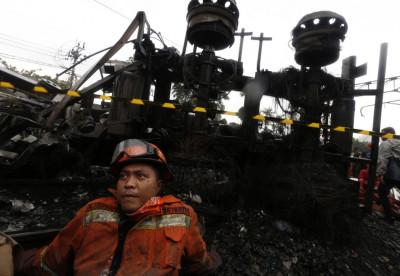 Bintaro Permai gas train incindent