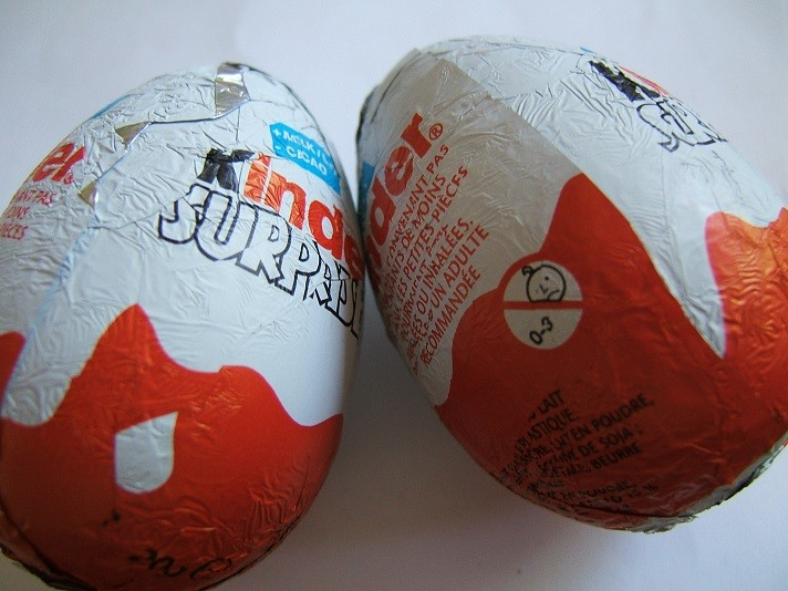Kinder Eggs used in cocaine and heroin trade