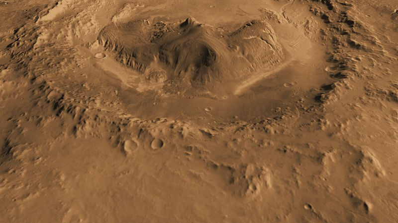 Ancient Freshwater Lake on Mars Suitable of Sustaining ...