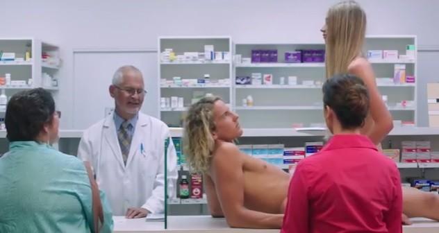 Naked Condoms advert