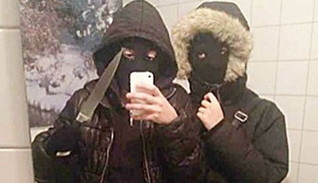 Police used the photo as evidence against them in court (Swedish Police)