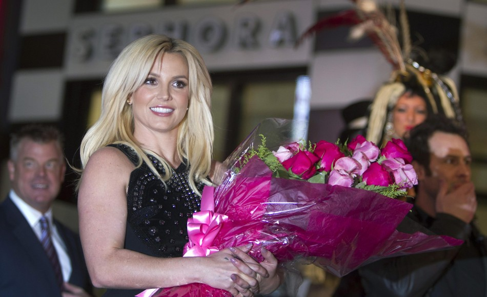 Pop singer Britney Spears arrives at Planet Hollywood Resort and Casino in Las Vegas