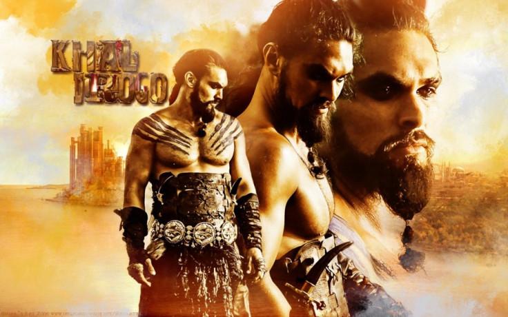 Jason Momoa as Khal Drogo in Game of Thrones