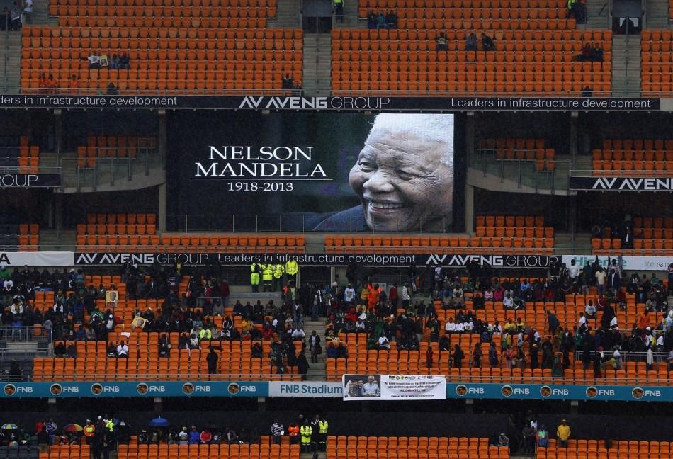 FNB Mandela stadium memorial