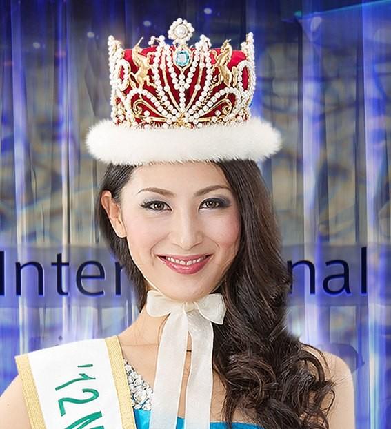 Miss International 2012, Ikumi Yoshimatsu of Japan, will crown her successor at the pageant's finale on 17 December. (Miss.International.bp/Facebook)