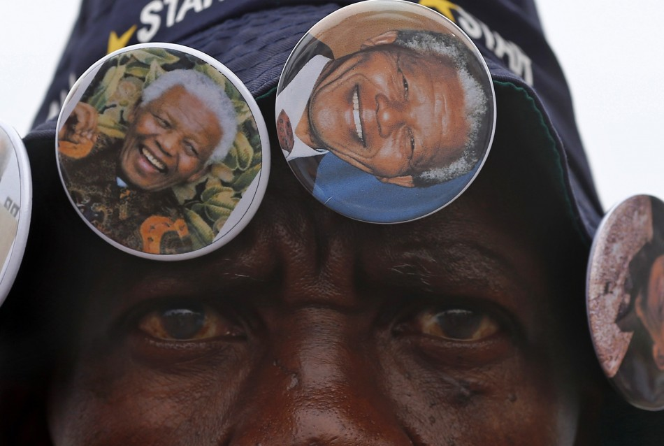 Mandela memorabilia on sale