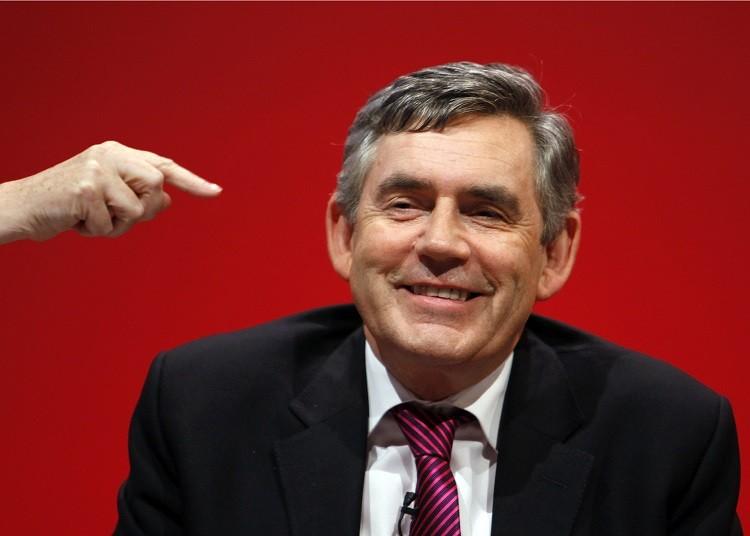 Gordon Brown gold